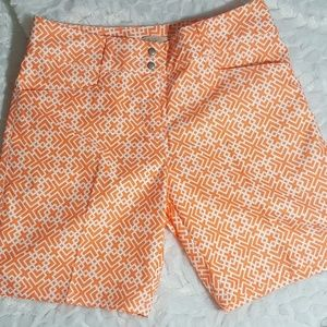 Adidas button up shorts size 2